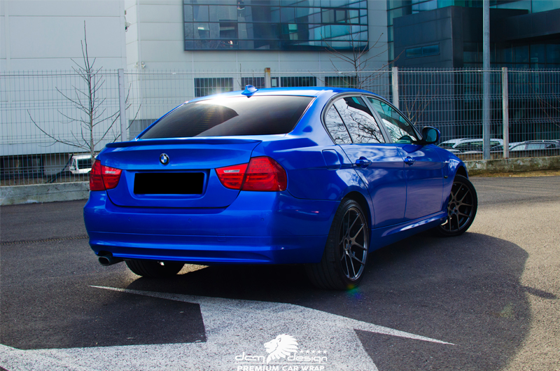 Bmw Dark Blue Chrome Dcm Design