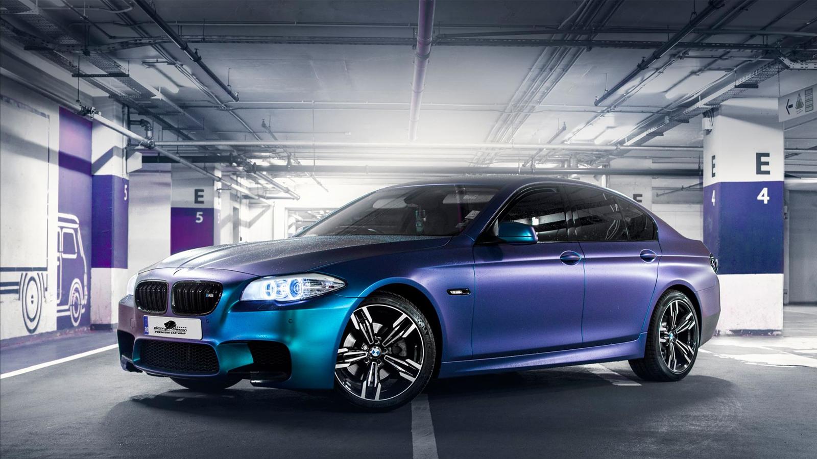 Bmw F10 Blue Cameleon Matte Dcm Design