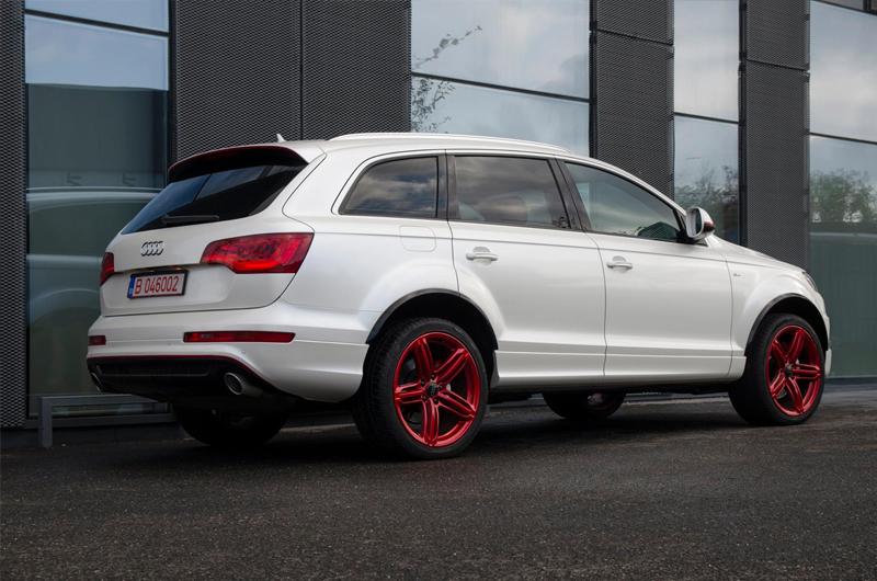 Audi Q7 Pearl White Wrap Dcm Design